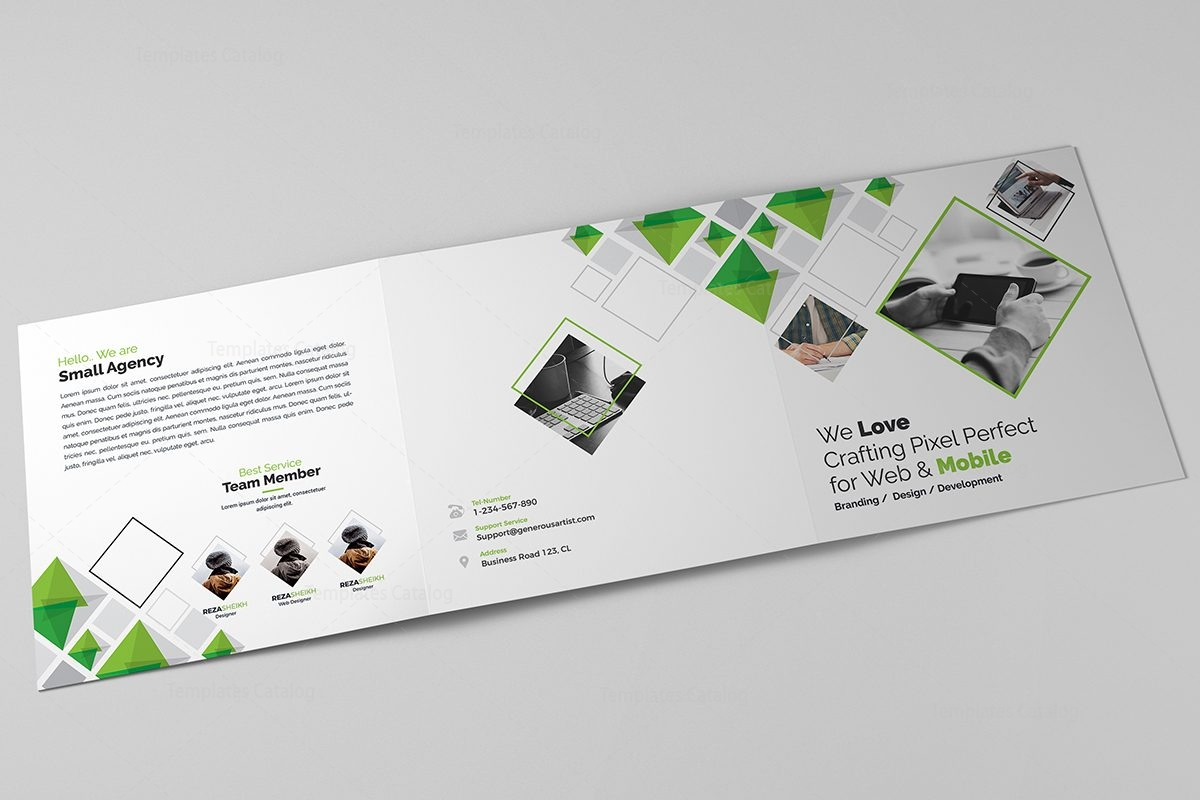 Eclipse modern tri fold brochure template 12 template for Eclipse comment template