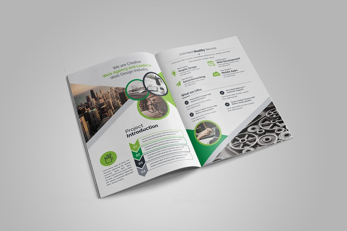 Emerald Flyer Template - Design Templates