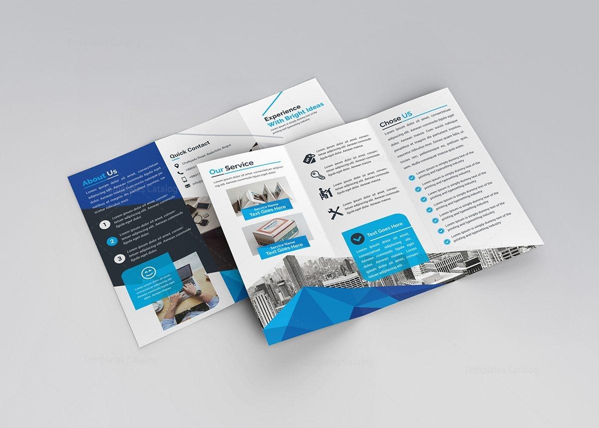 eros classy tri fold brochure template 3
