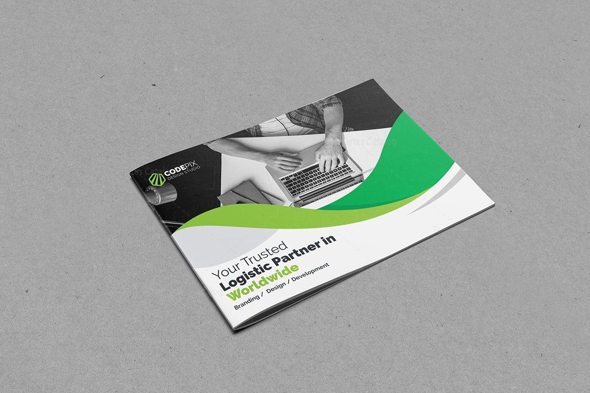 excellent landscape brochure template 000607 template catalog