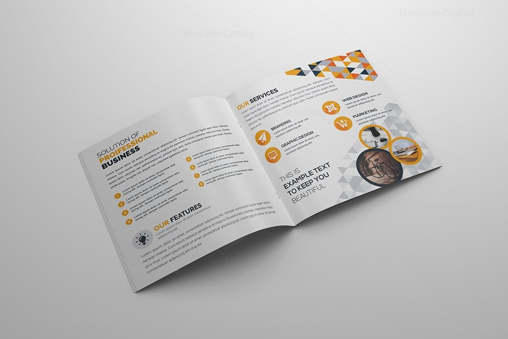 Fancy corporate bi fold brochure template 5 template catalog for Fancy brochure templates