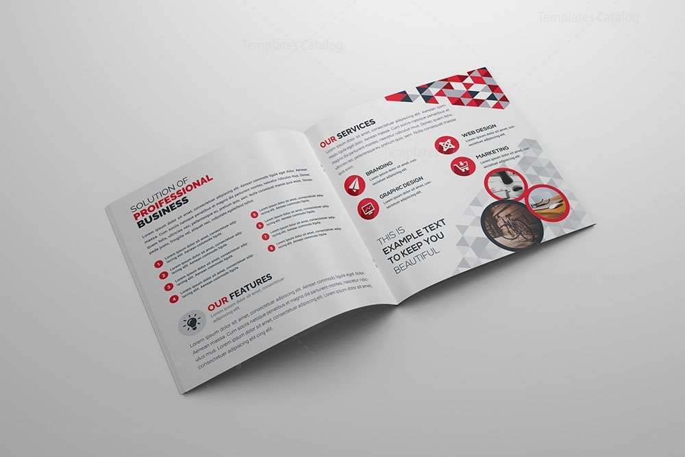 Fancy corporate bi fold brochure template 8 template catalog for Fancy brochure templates