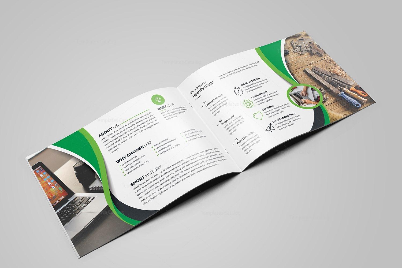 First Class Landscape Brochure Template 000606 - Template Catalog