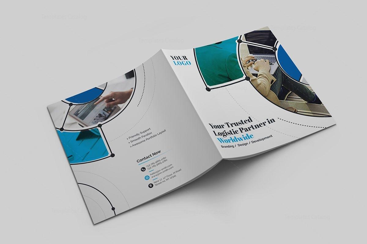 Goddess Premium Square BiFold Brochure Template Template - Portfolio brochure template