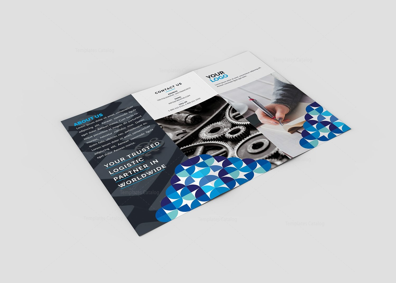 brochure mailer template 2 - iris premium tri fold brochure template 000775 template