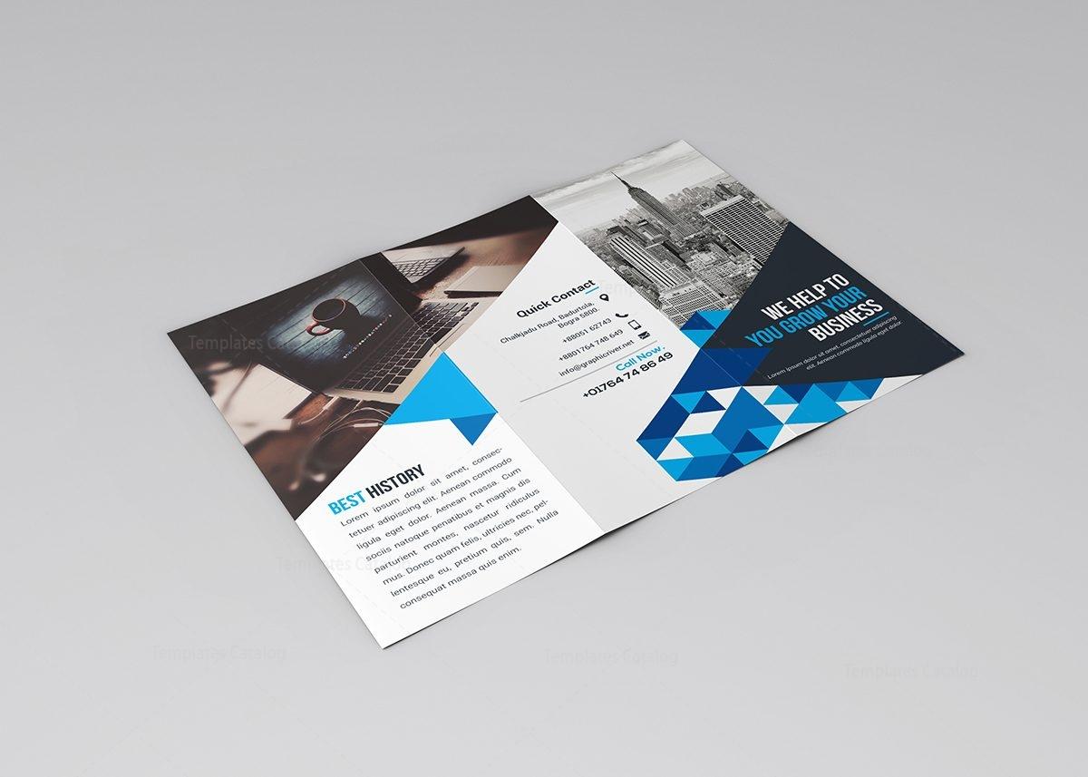 tri fold brochure template download 2 - jasmine corporate tri fold brochure template 000773