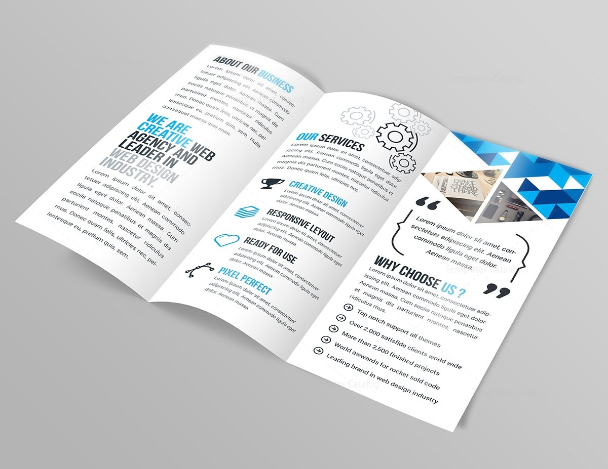 templates for tri fold brochures - jasmine corporate tri fold brochure template 000773