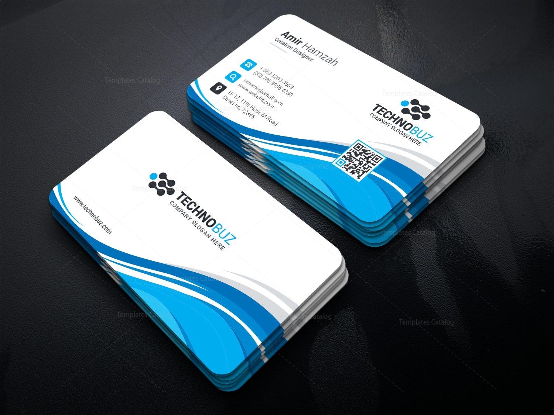 Leo premium corporate business card template 000808 template catalog leo premium corporate business card template 1 friedricerecipe Choice Image