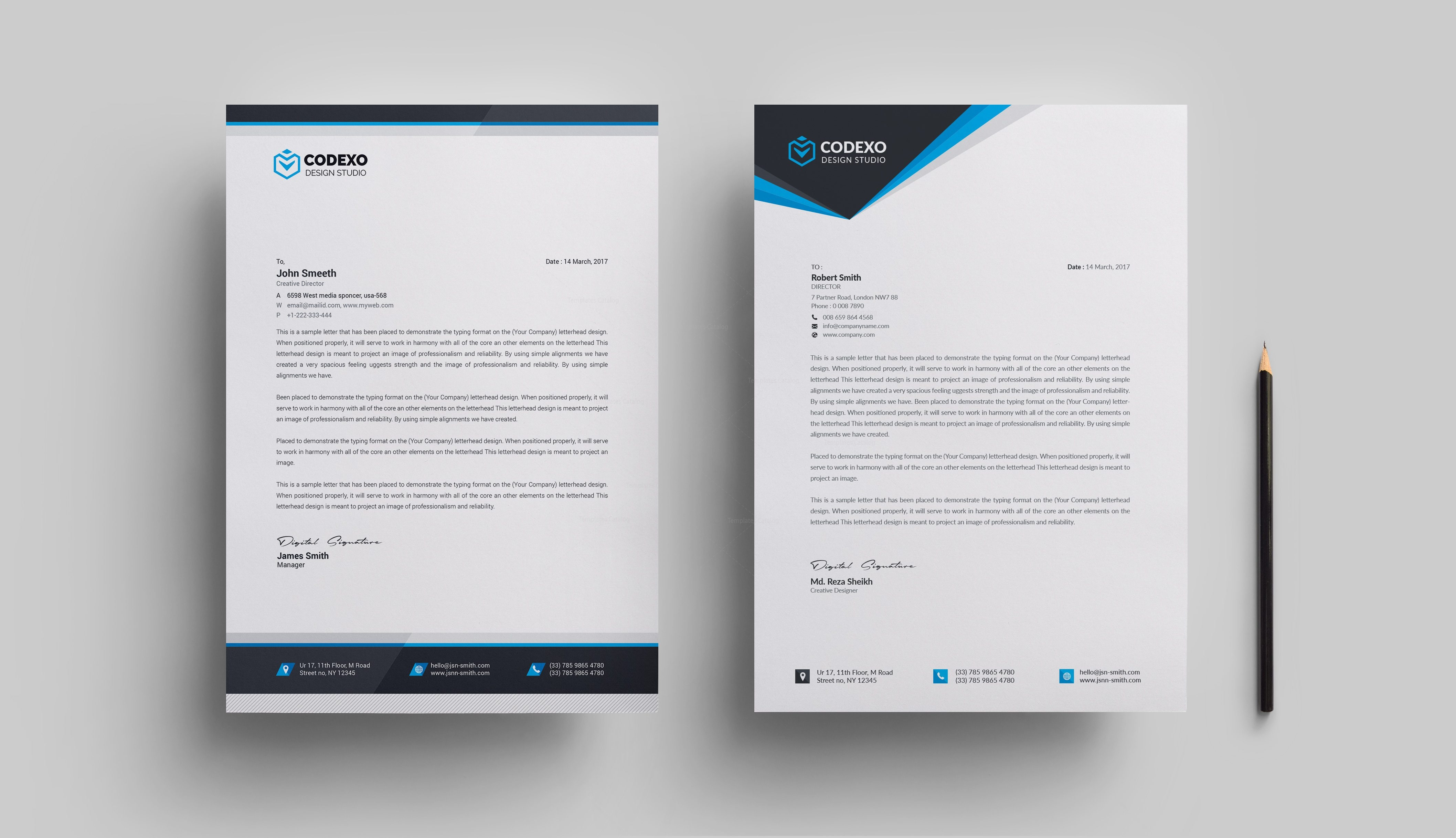 letterhead designs vatoz atozdevelopment co