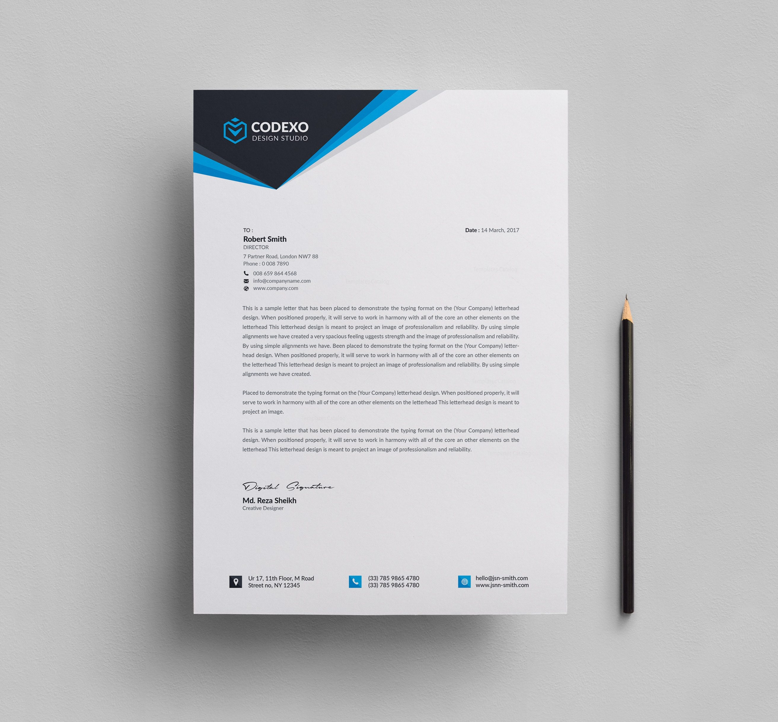 Letterhead design templates 000610 template catalog letterhead design templates 7 accmission Image collections