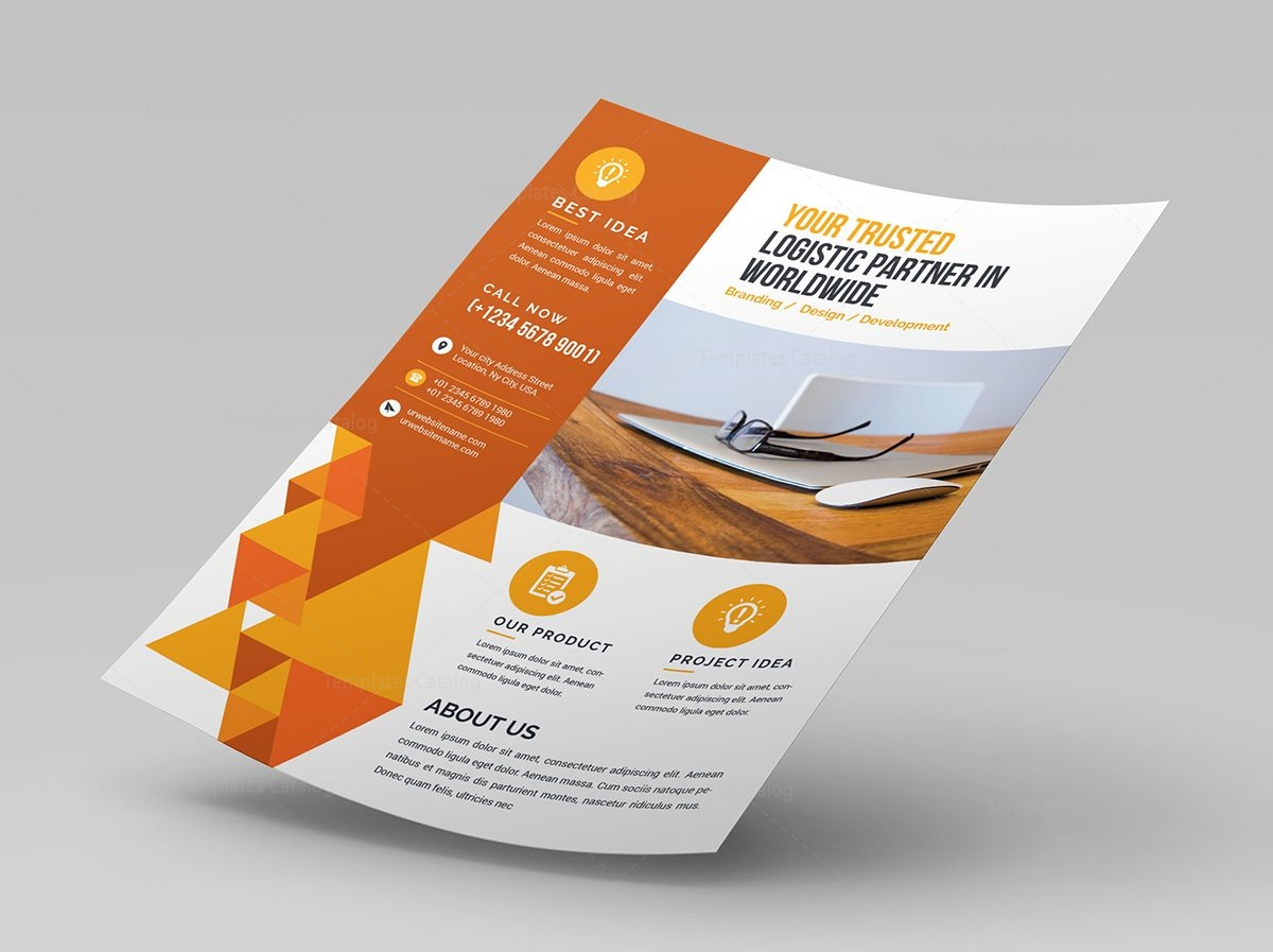 modern corporate flyer design template 000639 template catalog