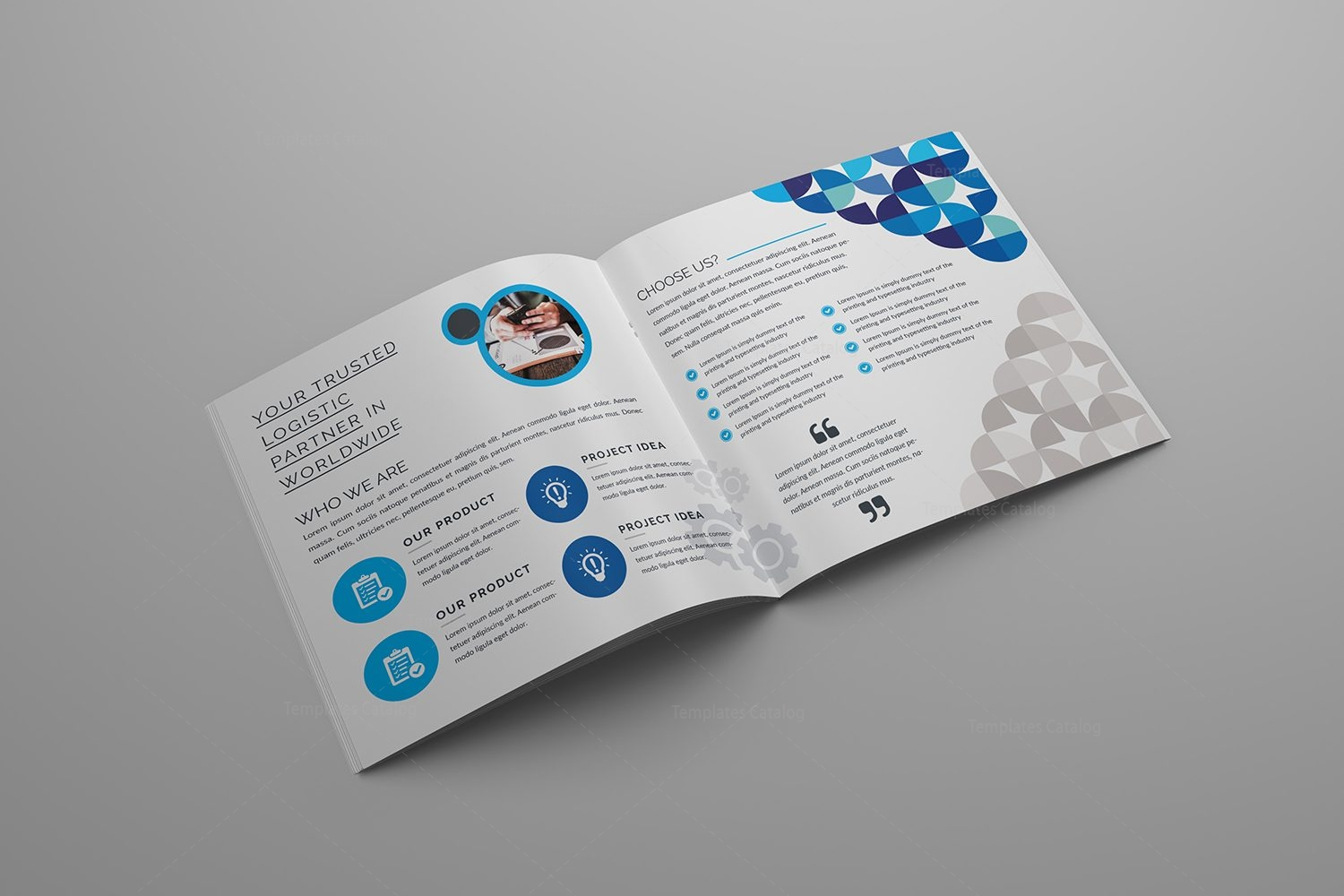 Nemesis corporate bi fold brochure template 000801 for Corporate bi fold brochure template