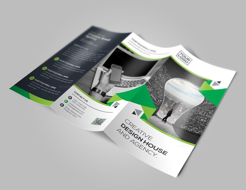 new idea tri fold brochure template 8