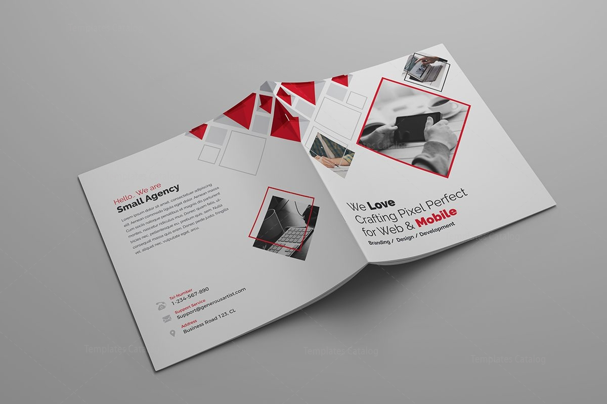 Outstanding Brochure Template 000625 - Template Catalog