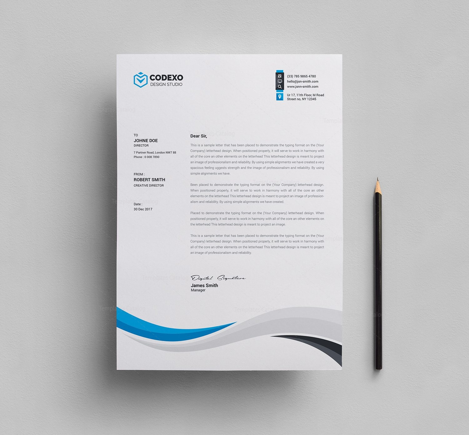 Perfect letterhead template 000611 template catalog perfect letterhead template 1 thecheapjerseys
