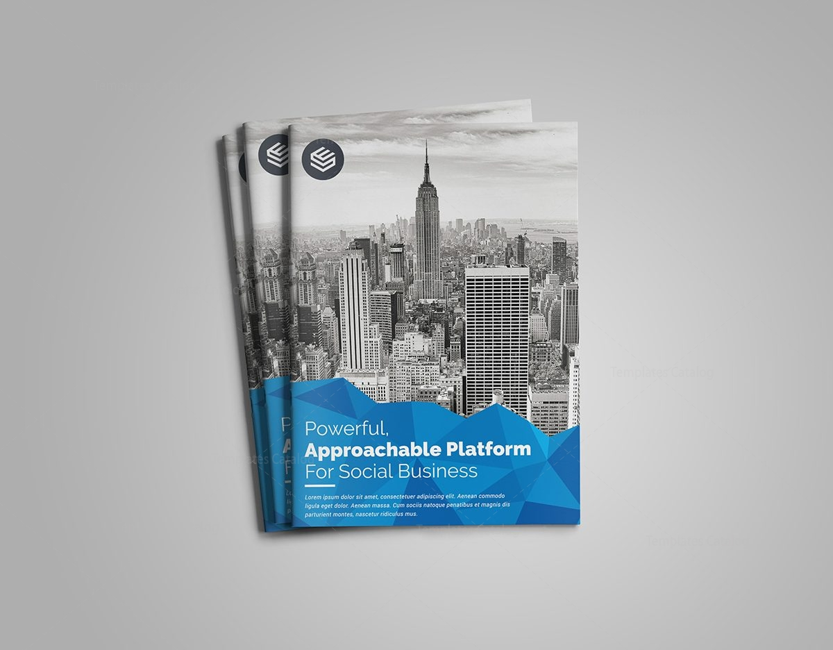 premium stylish bi fold brochure template 1