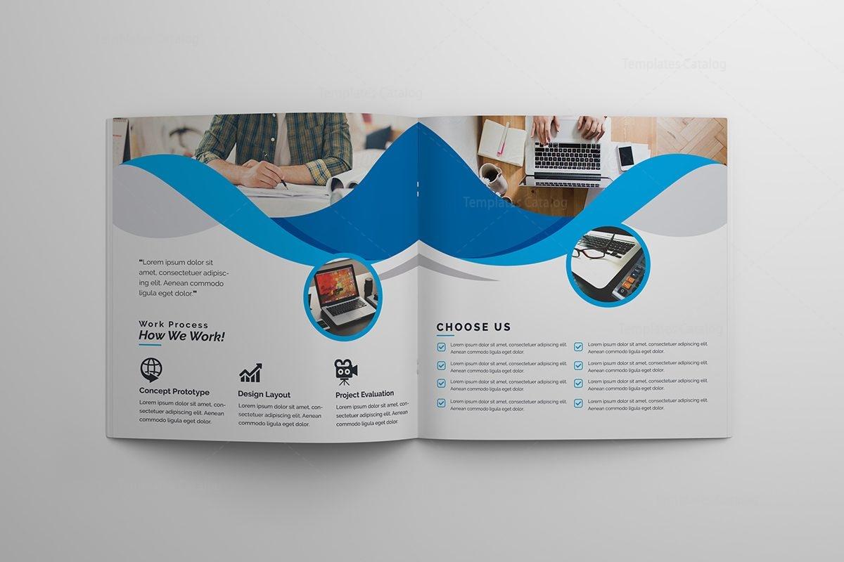 Premium stylish corporate brochure template 000621 for Premium brochure templates