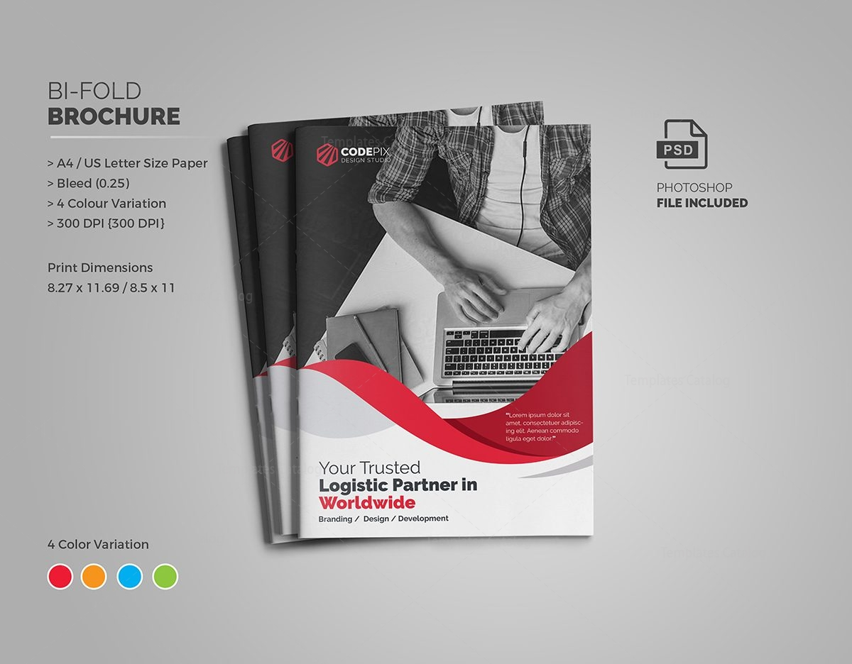 Professional business bi fold brochure template 000726 template professional business bi fold brochure template 1 pronofoot35fo Images