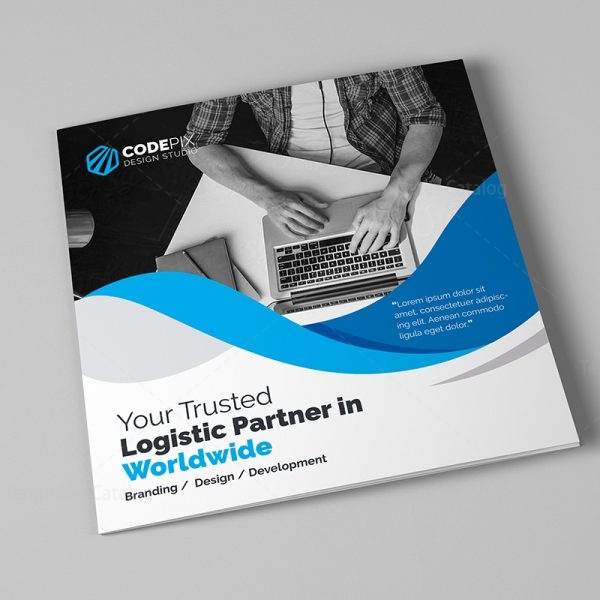 Pure Corporate Tri-Fold Brochure Template 7