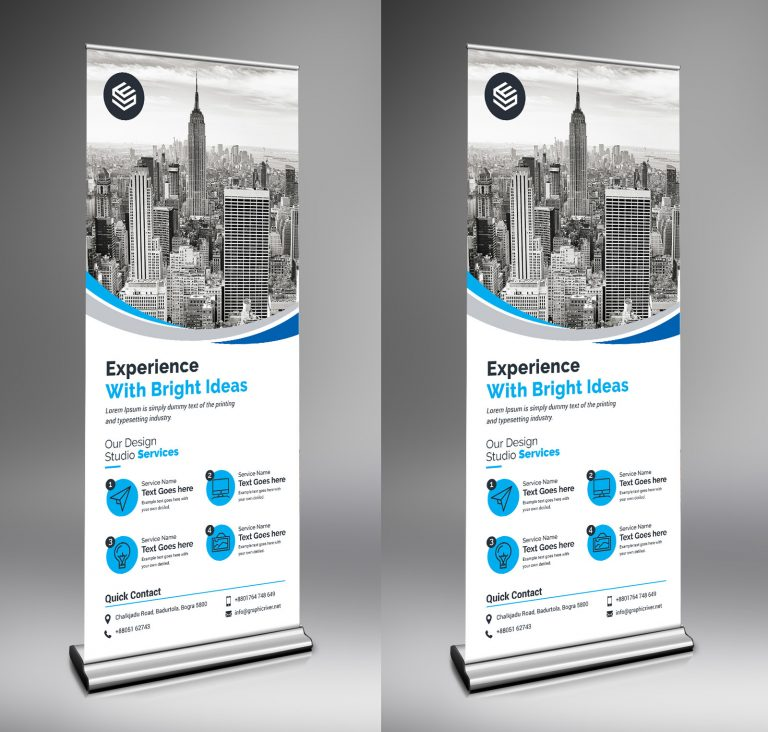 Rigel Creative Roll-Up-Banner Template 1