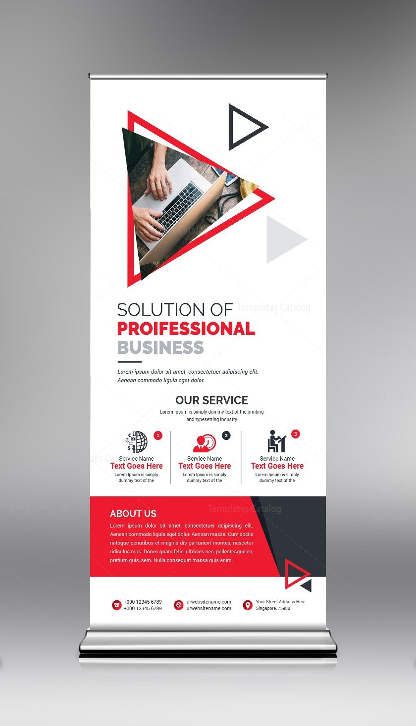 Roll Up Roll Up Read The All New Little Black Dress: Roll Up Banner Template With Clean Design 000684