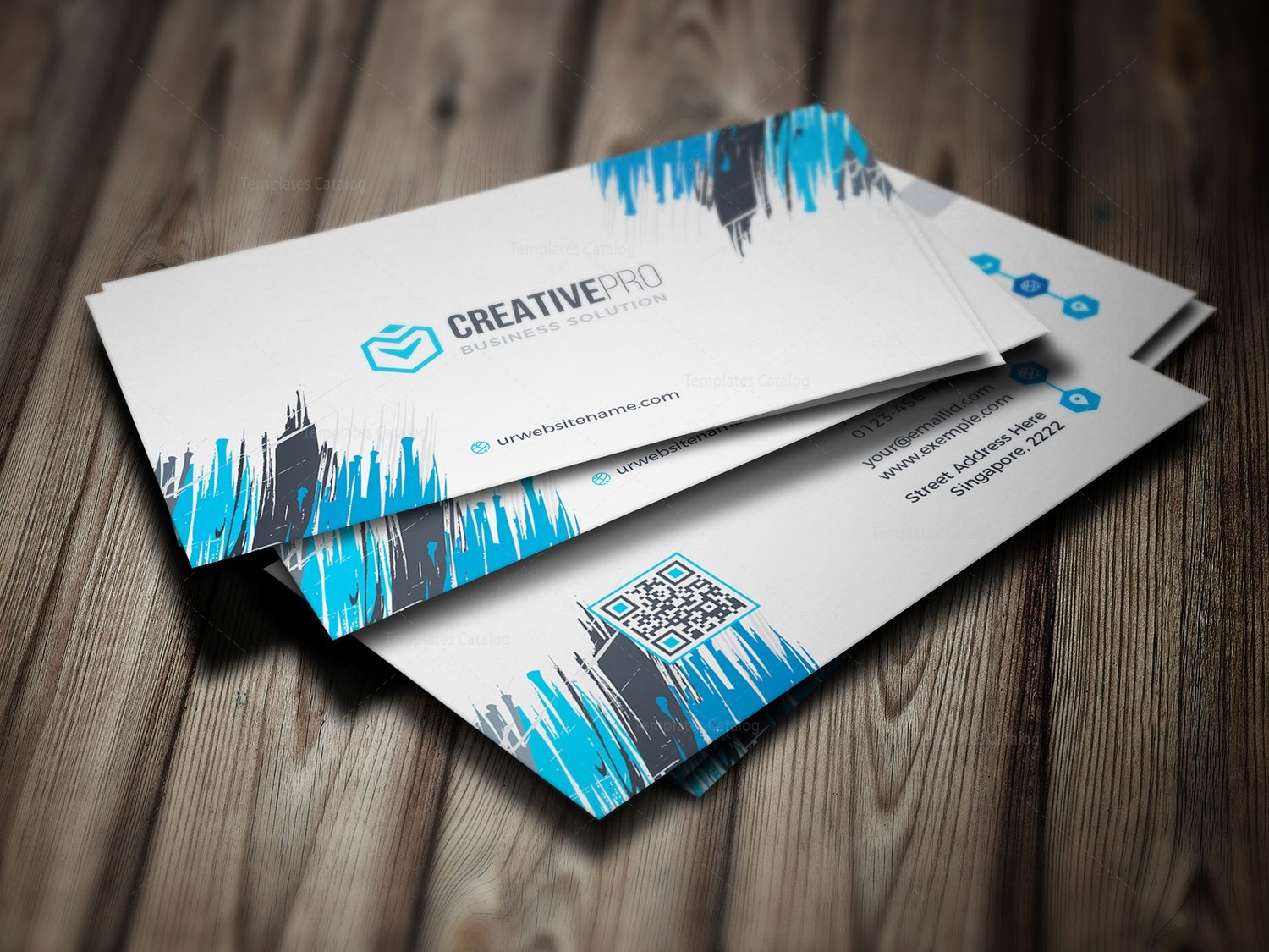 Sharp professional business card template 000782 template catalog sharp professional business card template 1 cheaphphosting Image collections
