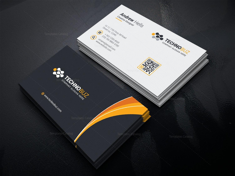 Spectrum Elegant Business Card Template 000753 - Template Catalog