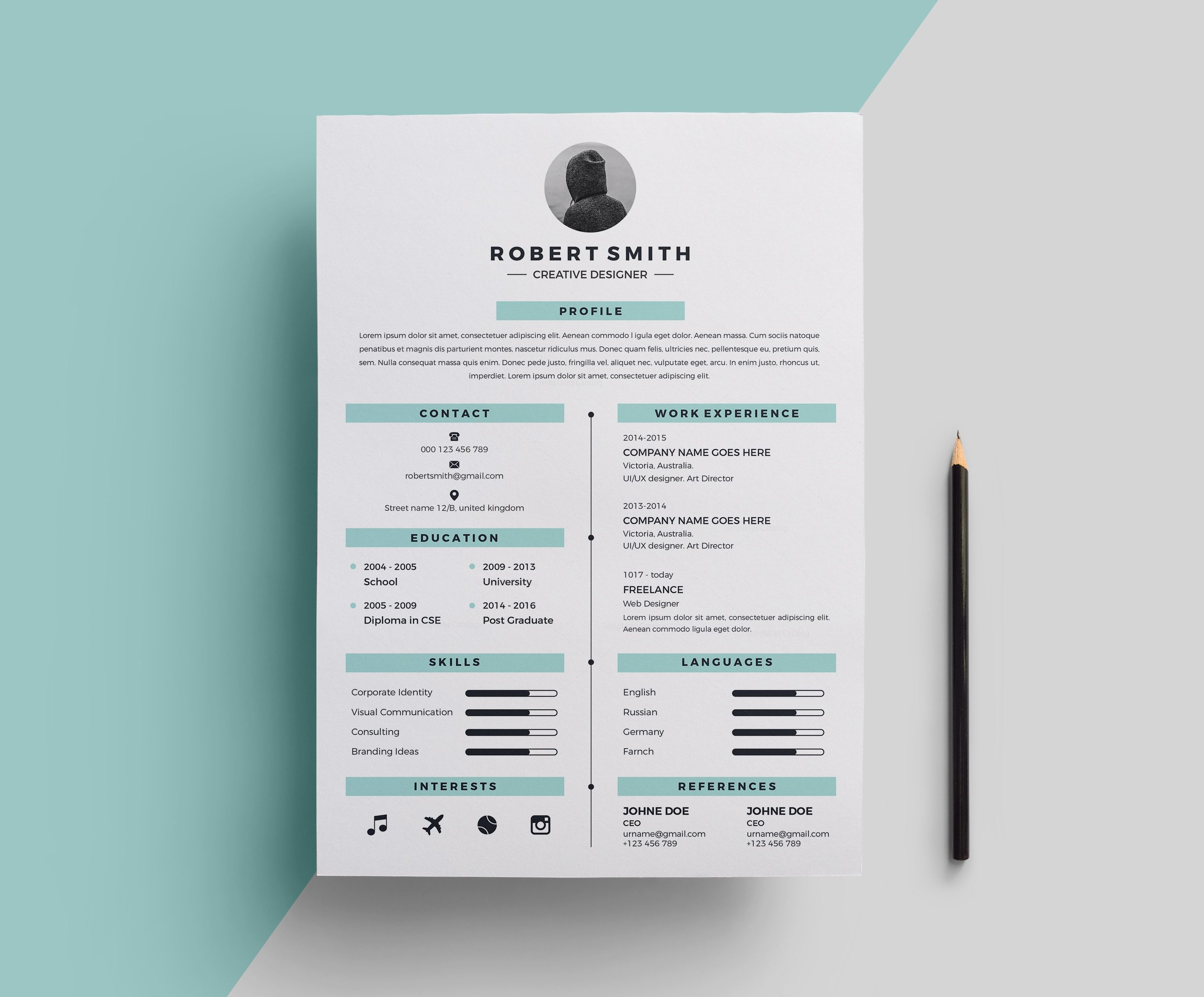 free stylish resume templates - star stylish resume template 000696 template catalog