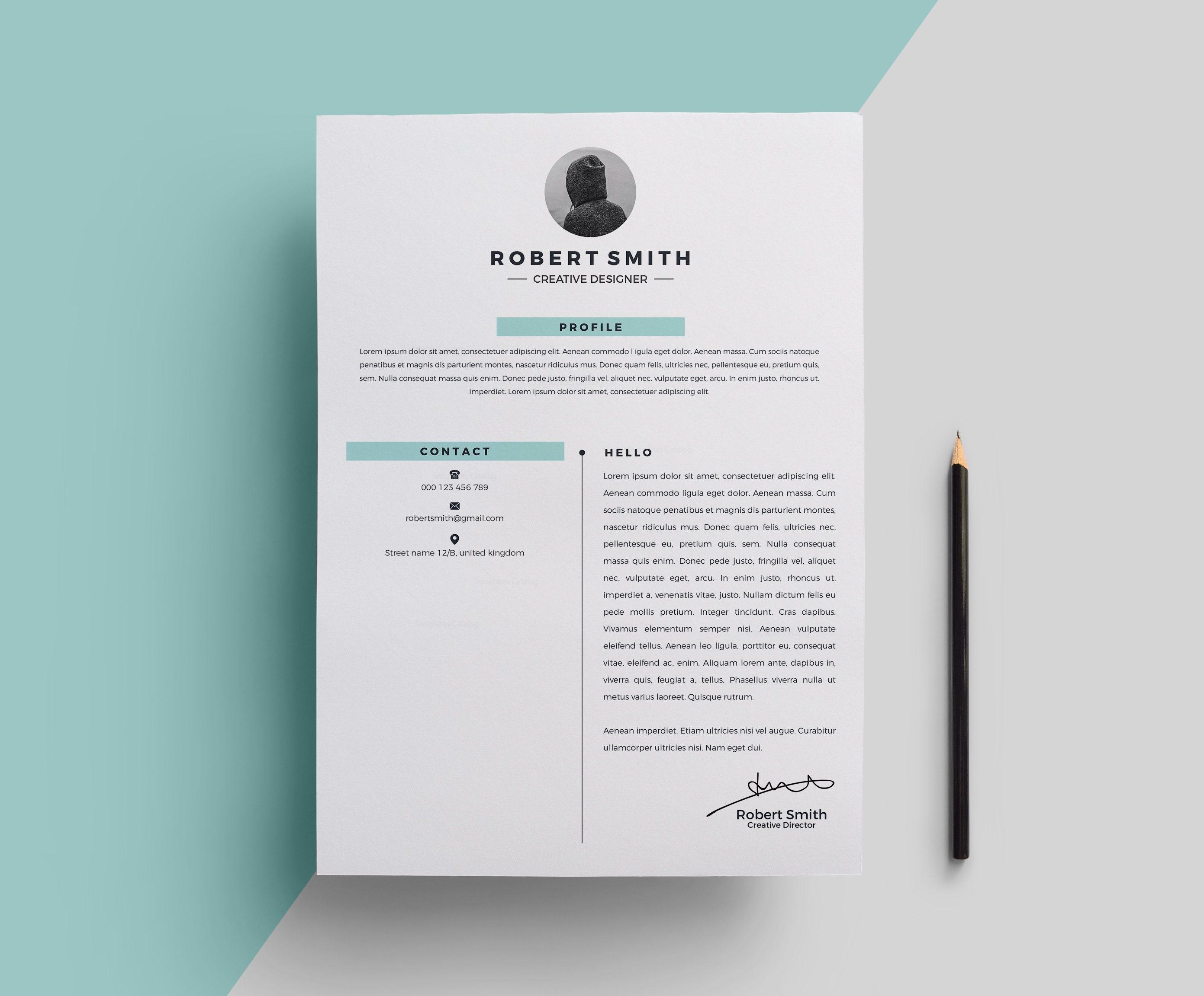 star stylish resume template 000696
