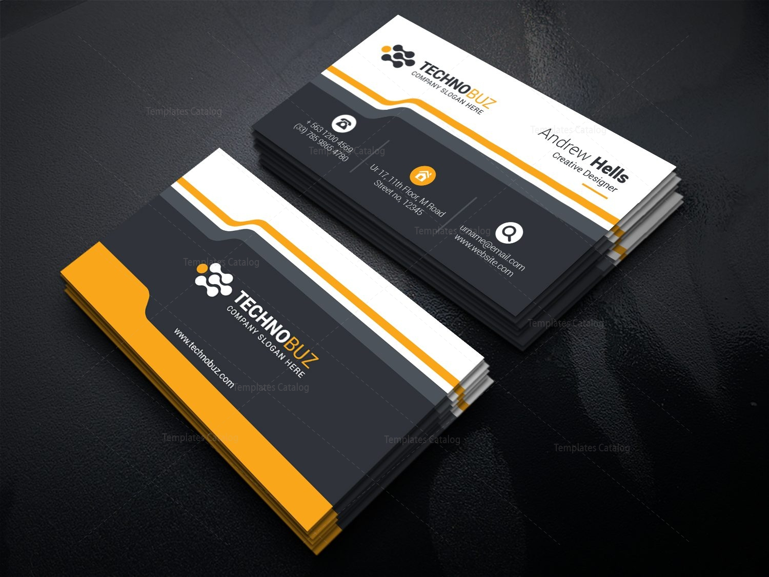 stunning classy business card template - Classy Business Cards