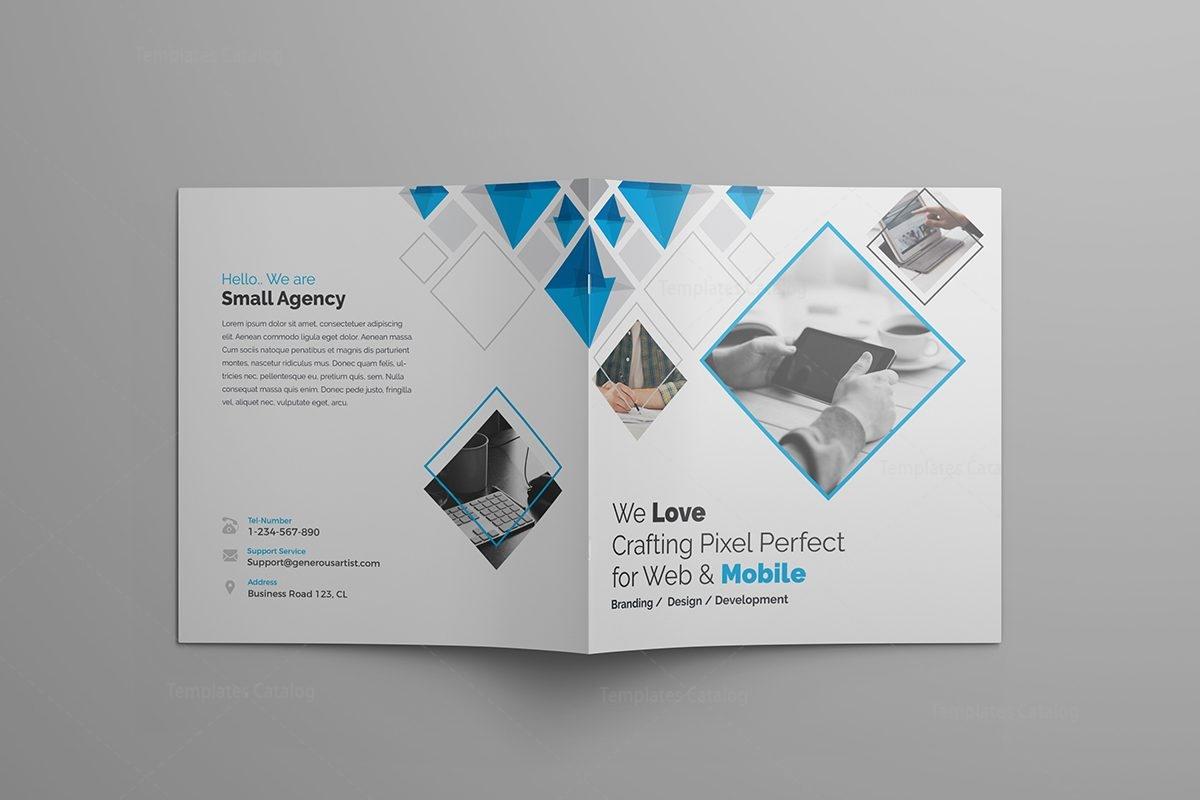 supernova premium square bi fold brochure template 000805 template