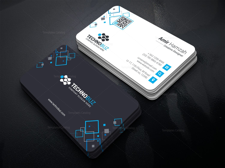 Taurus Premium Elegant Business Card Template 000811 - Template Catalog