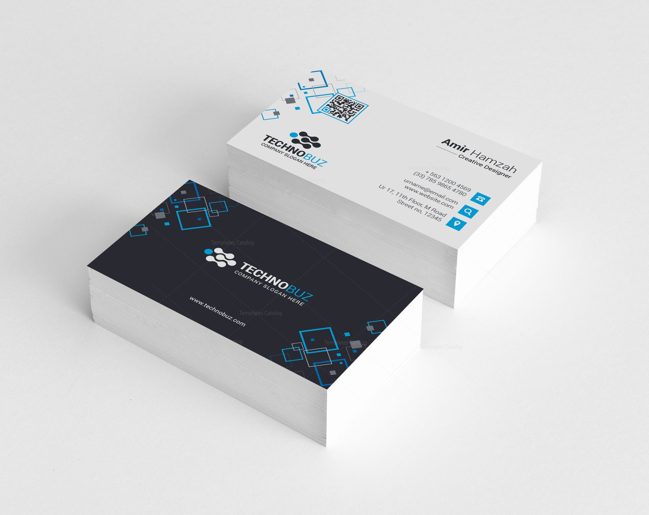Taurus premium elegant business card template 000811 template catalog taurus premium elegant business card template 2 accmission Image collections