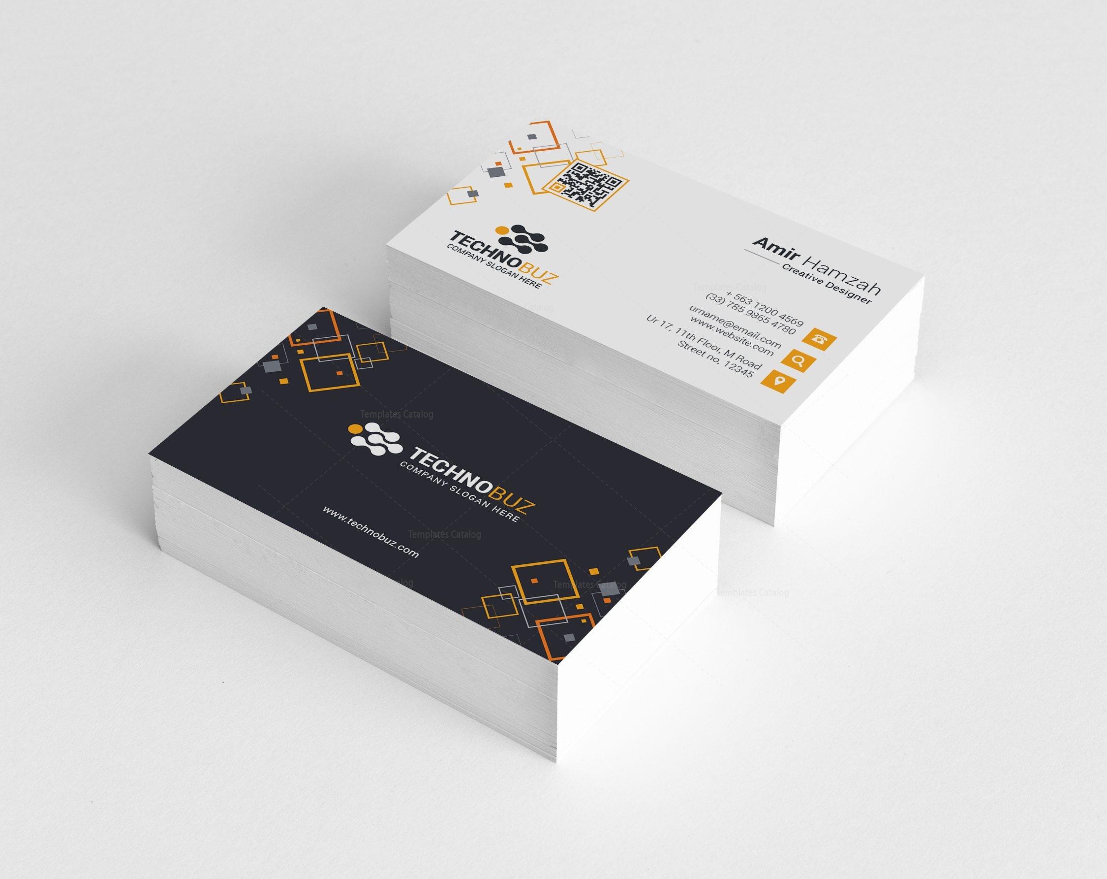 Taurus Premium Elegant Business Card Template 000811 - Template ...