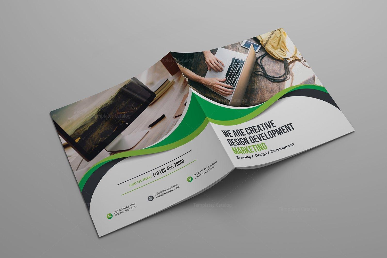 Technology Company Brochure Template Template Catalog - Company brochure template