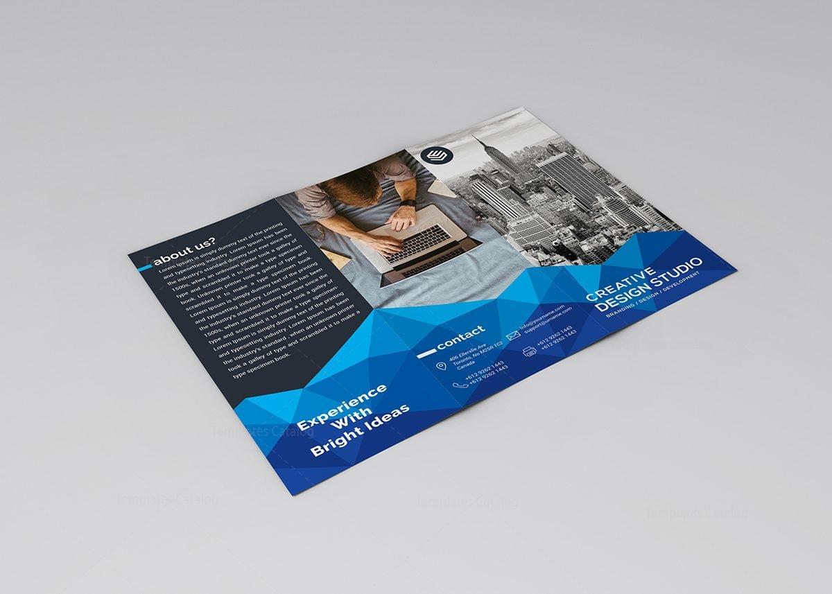 thor elegant tri fold brochure template 000758 template catalog