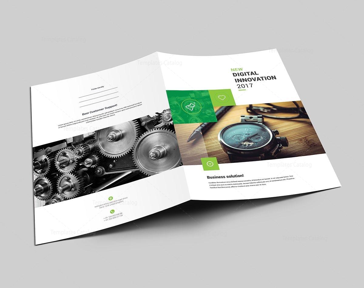 top ranked presentation folder template 000604 - template catalog, Presentation templates