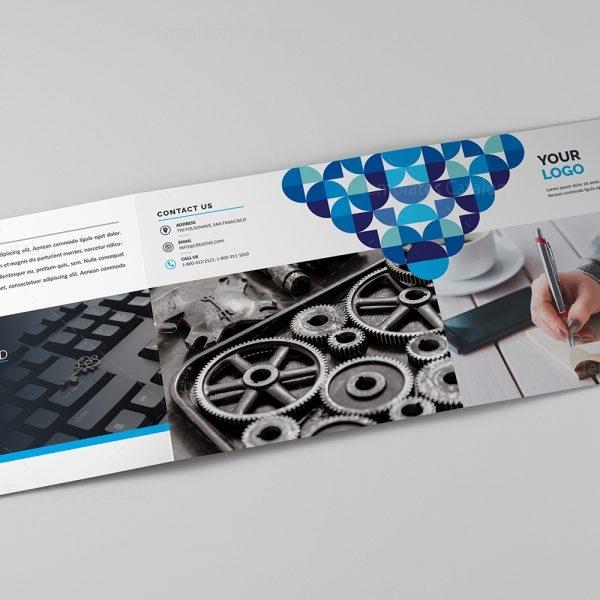 Vega Corporate Tri-Fold Brochure Template 3