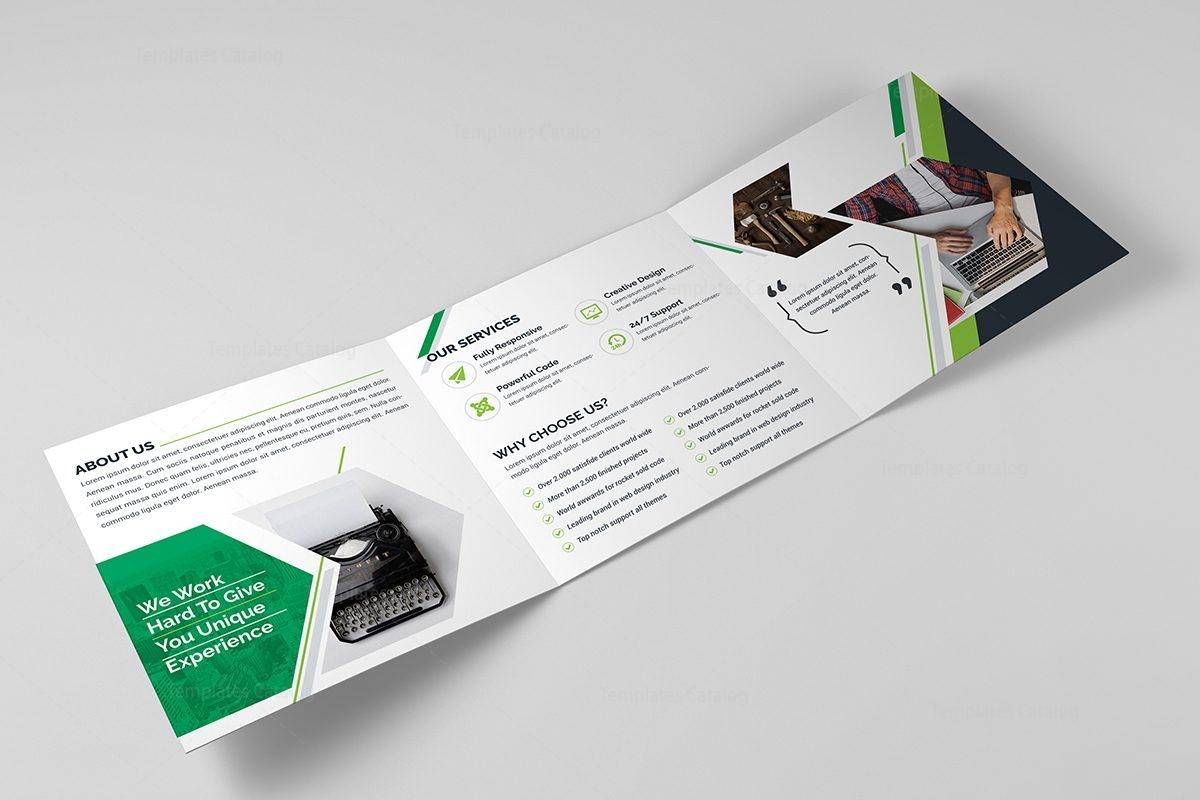 venus corporate tri fold brochure template 11