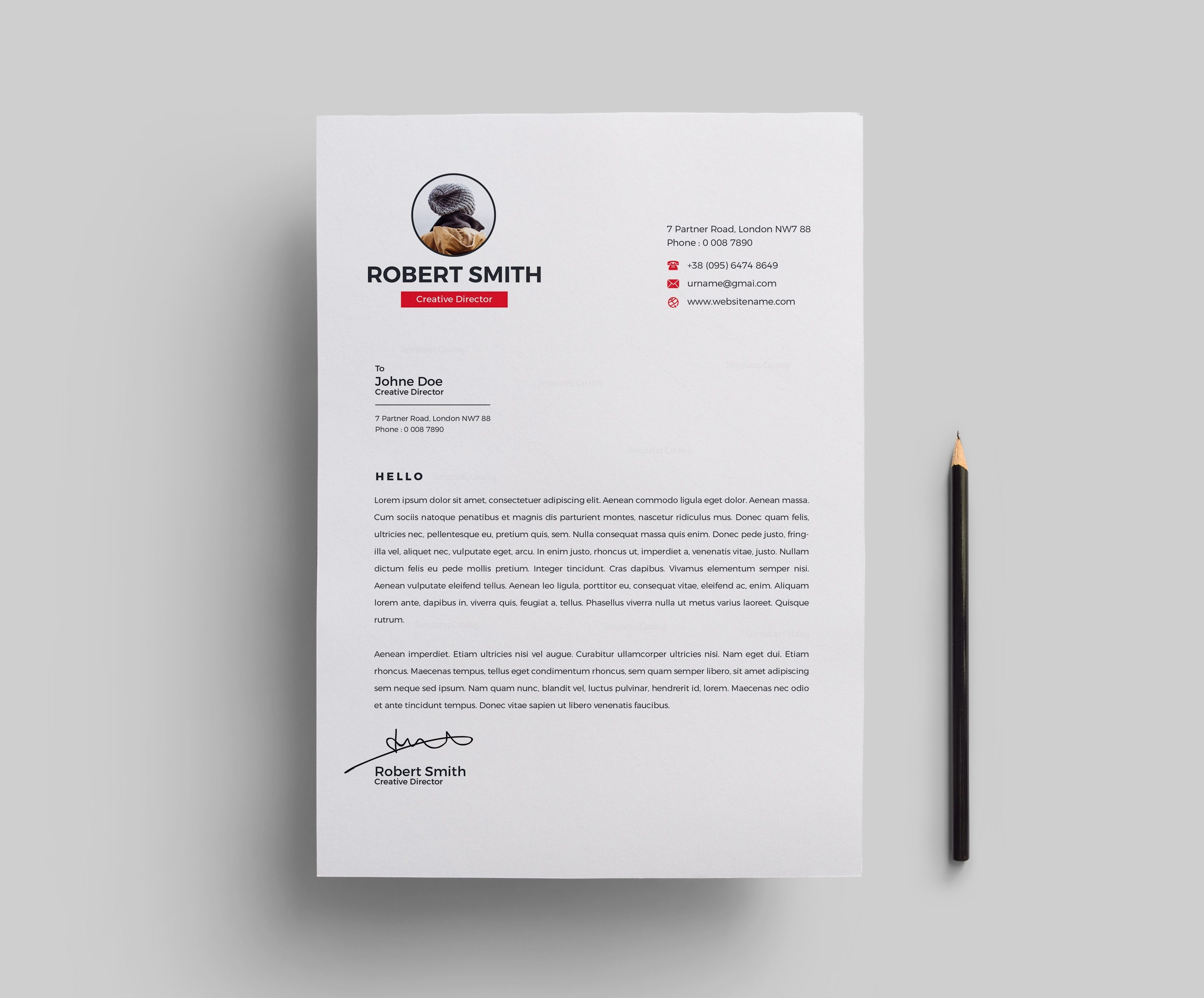 Venus Resume Template 000700 - Template Catalog