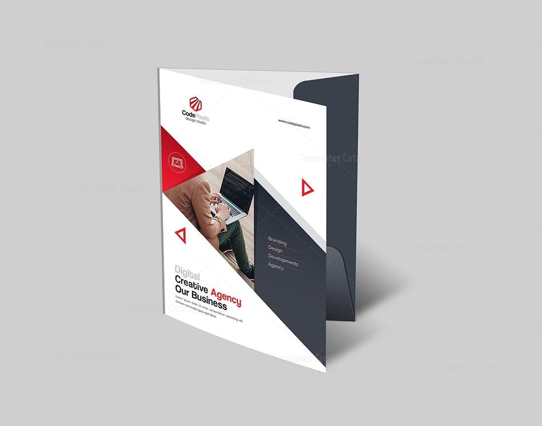 world class presentation folder template 000605