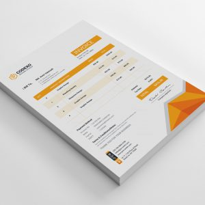 Apollo Premium Corporate Invoice Template