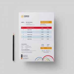 Ares Premium Corporate Invoice Template