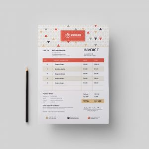 Ares Stylish Corporate Invoice Template