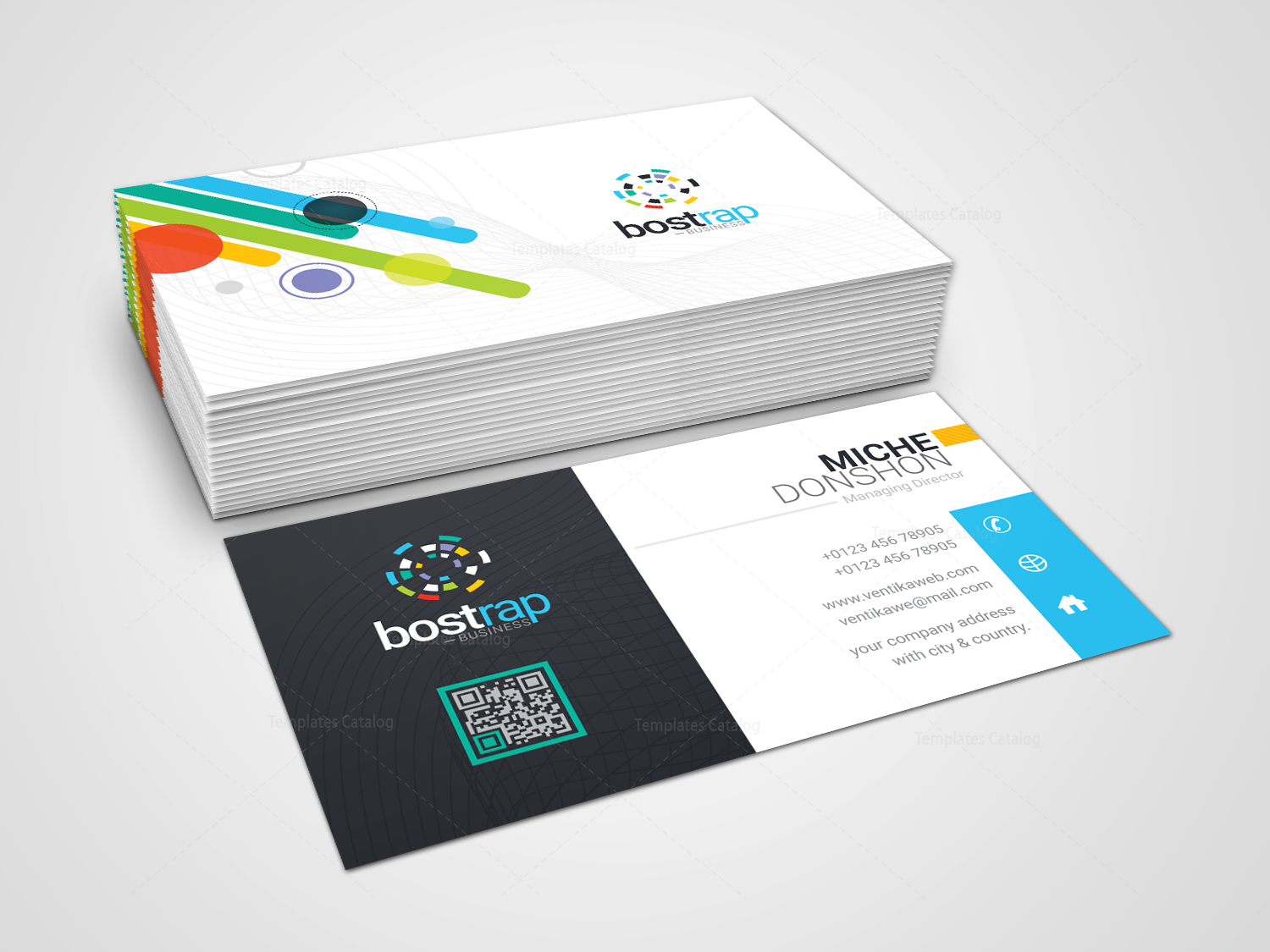 Corporate business card selol ink corporate business card colourmoves