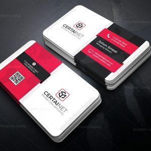Carbon Elegant Corporate Business Card Template