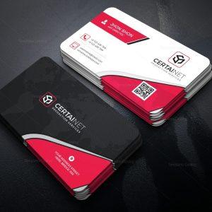 Crystal Elegant Corporate Business Card Template