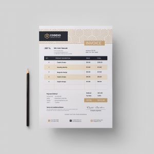 Demeter Stylish Corporate Invoice Template