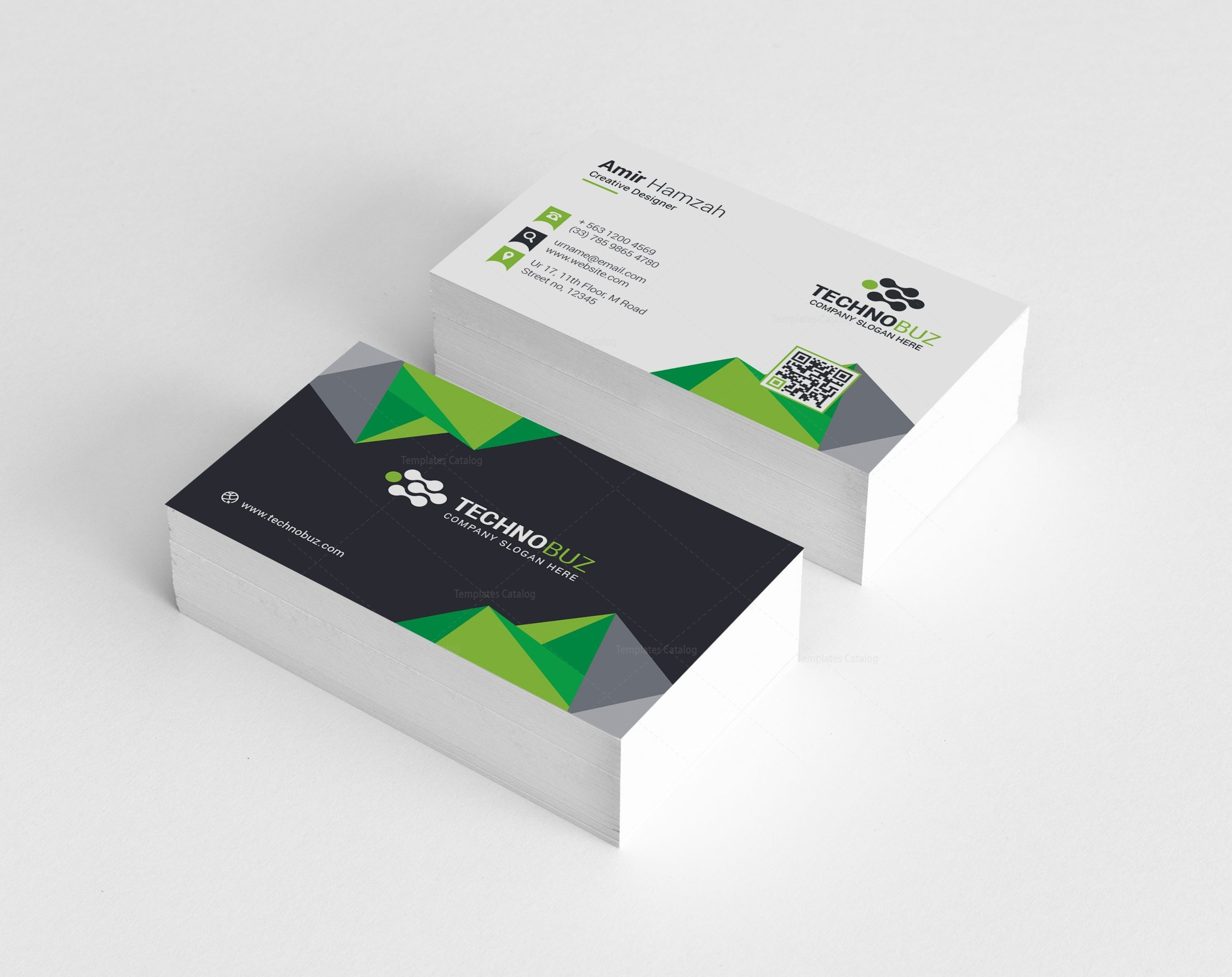Diamond Premium Stylish Business Card Template