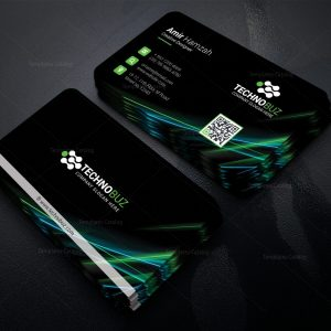 Electron Corporate Business Card Template